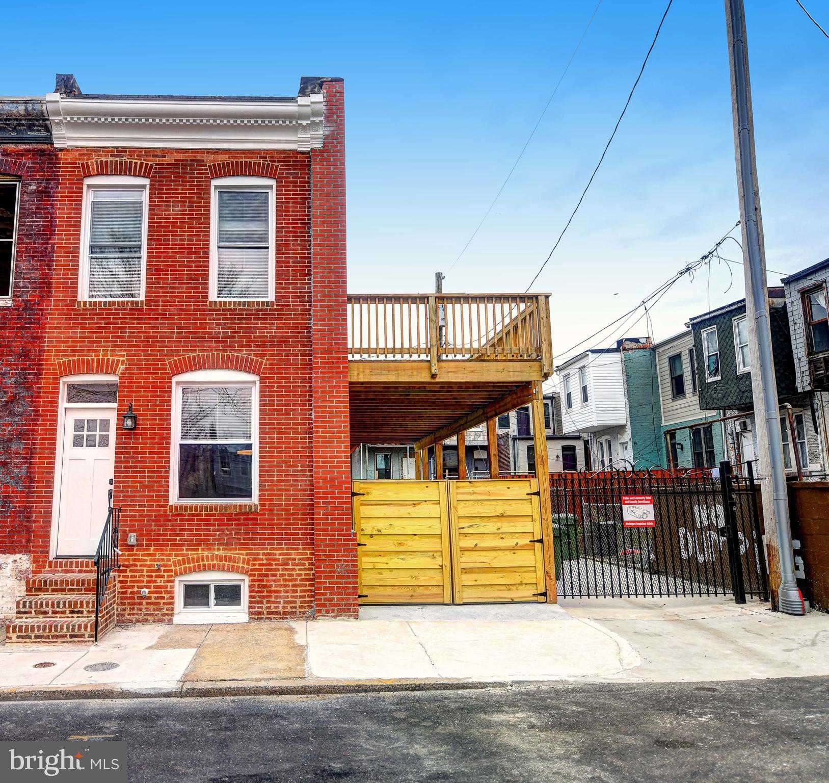 903 N Bradford Street, Baltimore, MD 21205 now has a new price of $229,900!