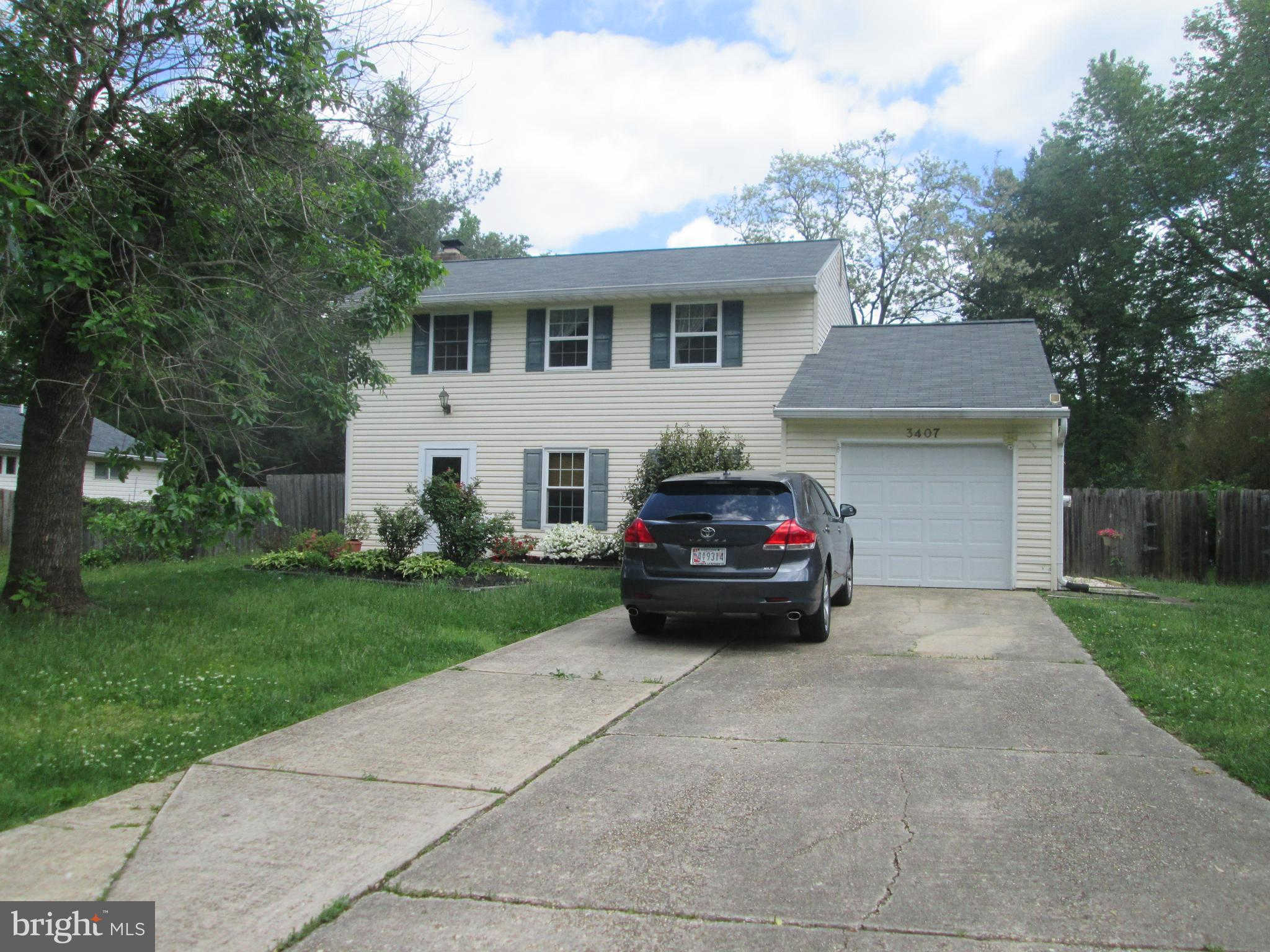 3407 Northshire Lane, Bowie, MD 20716 is now new to the market!
