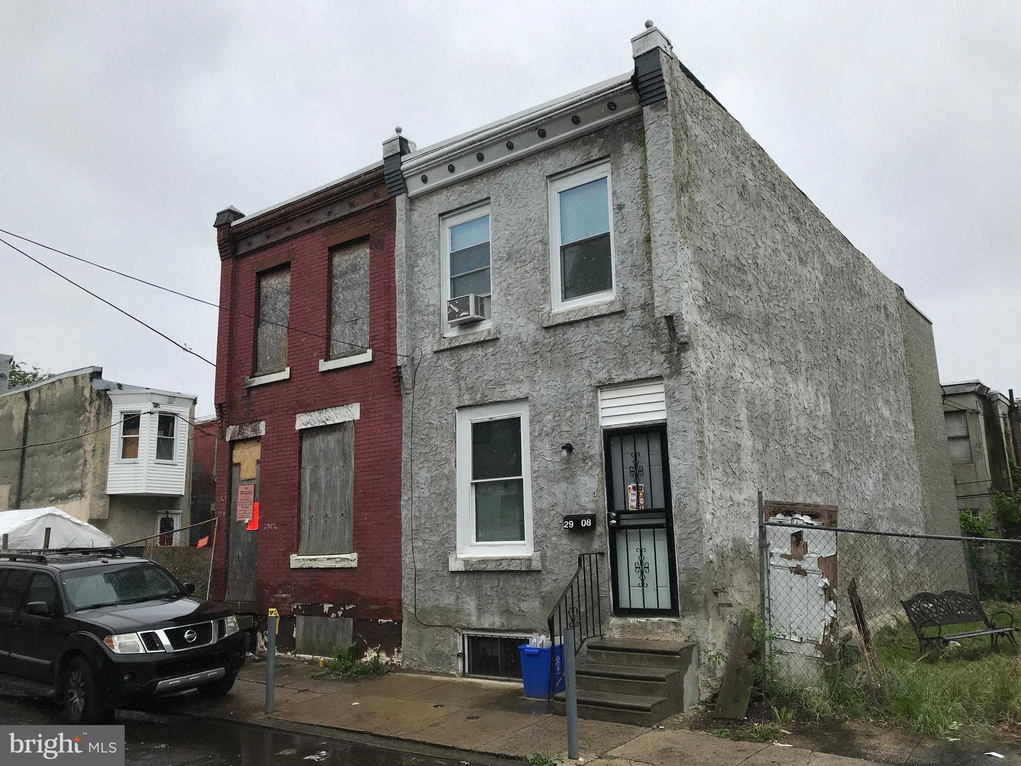2906 Page Street, Philadelphia, PA 19121 now has a new price of $25,000!