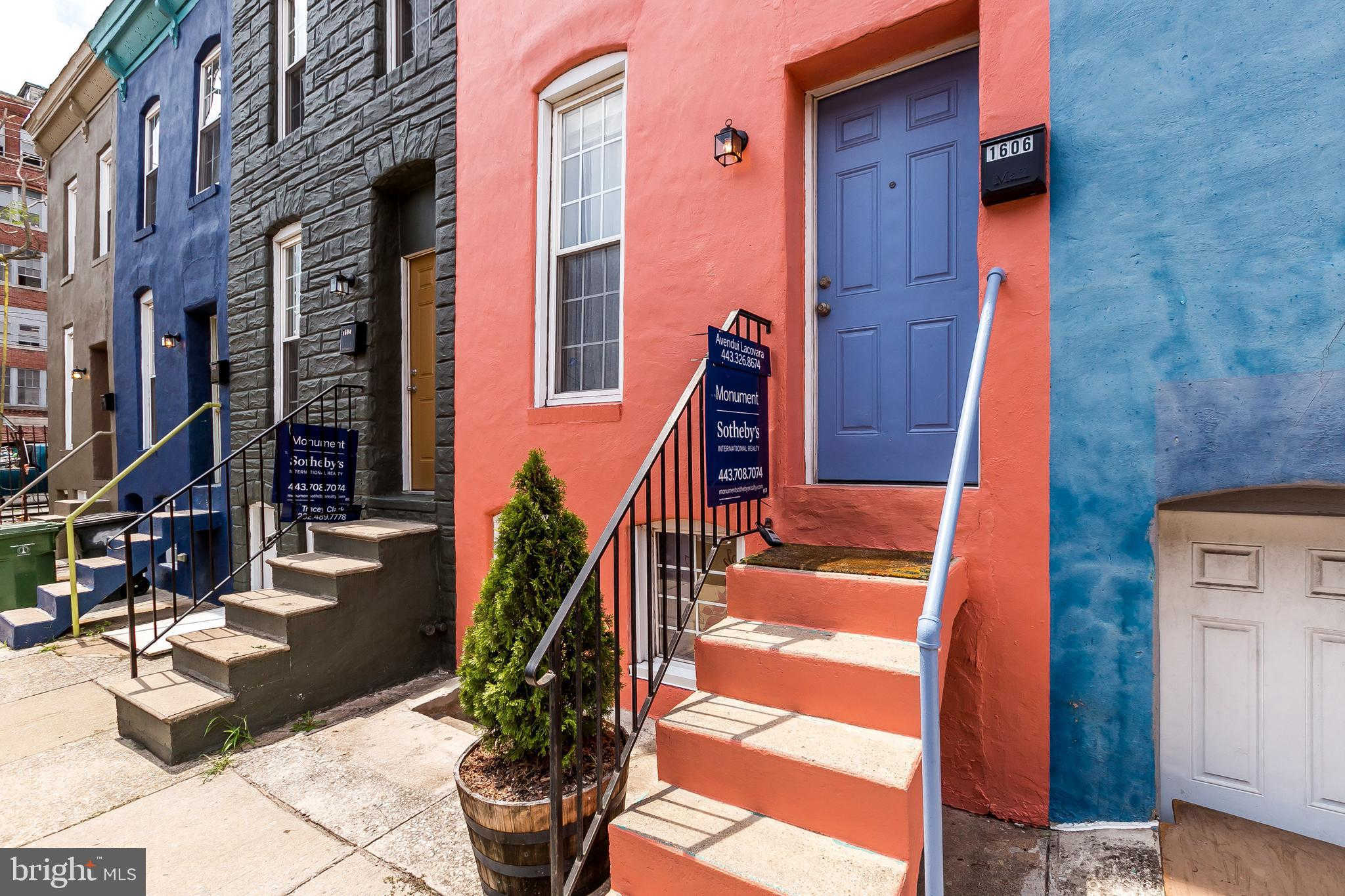 1606 Latrobe Street, Baltimore, MD 21202 now has a new price of $163,500!