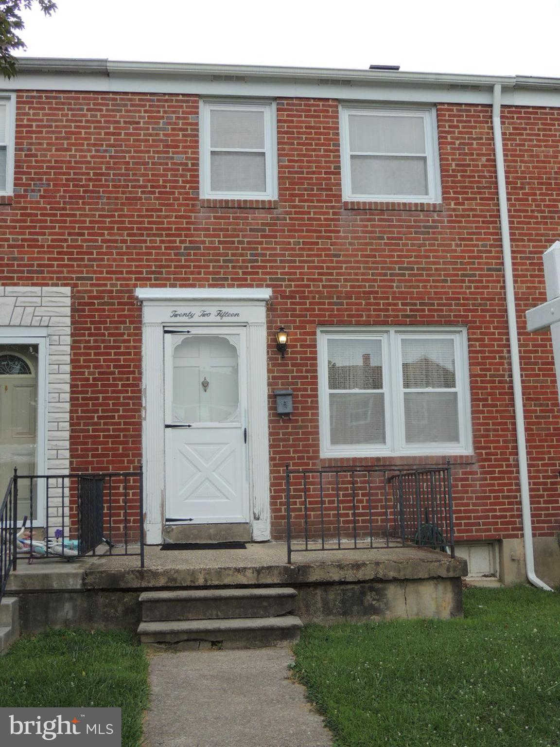 2215 Graythorn Road, Baltimore, MD 21220 now has a new price of $119,900!