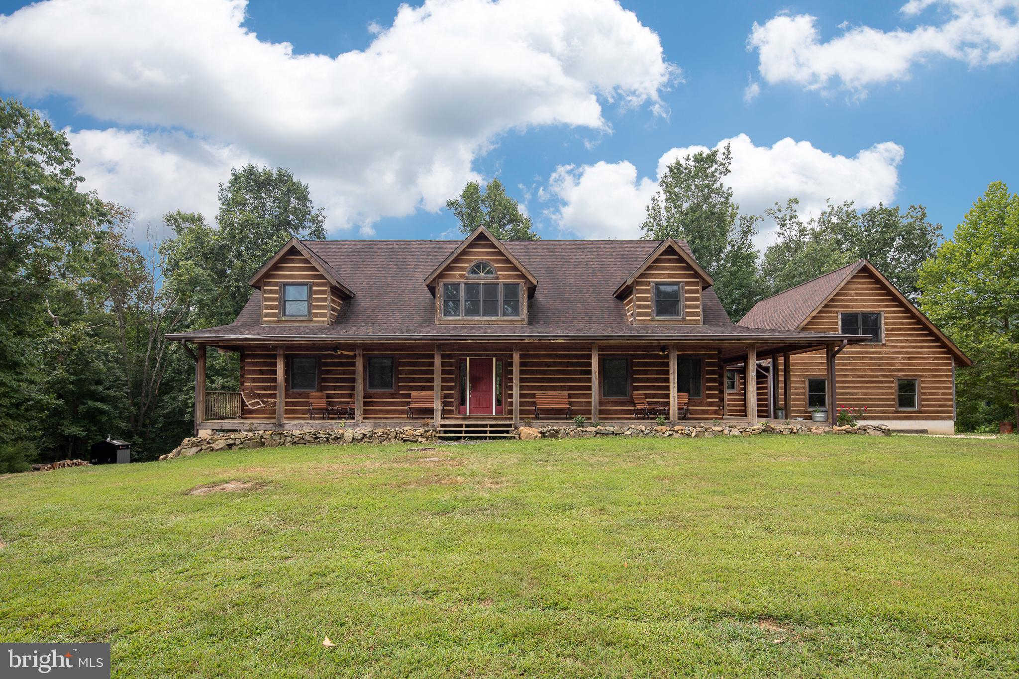 284 Little Long Mountain Lane, Huntly, VA 22640 now has a new price of $694,990!