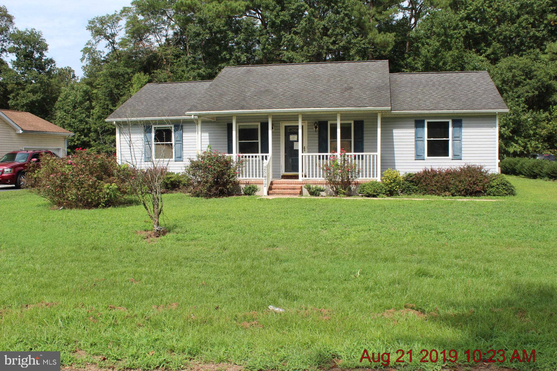 25472 Hillcrest Road, Seaford, DE 19973 now has a new price of $83,000!