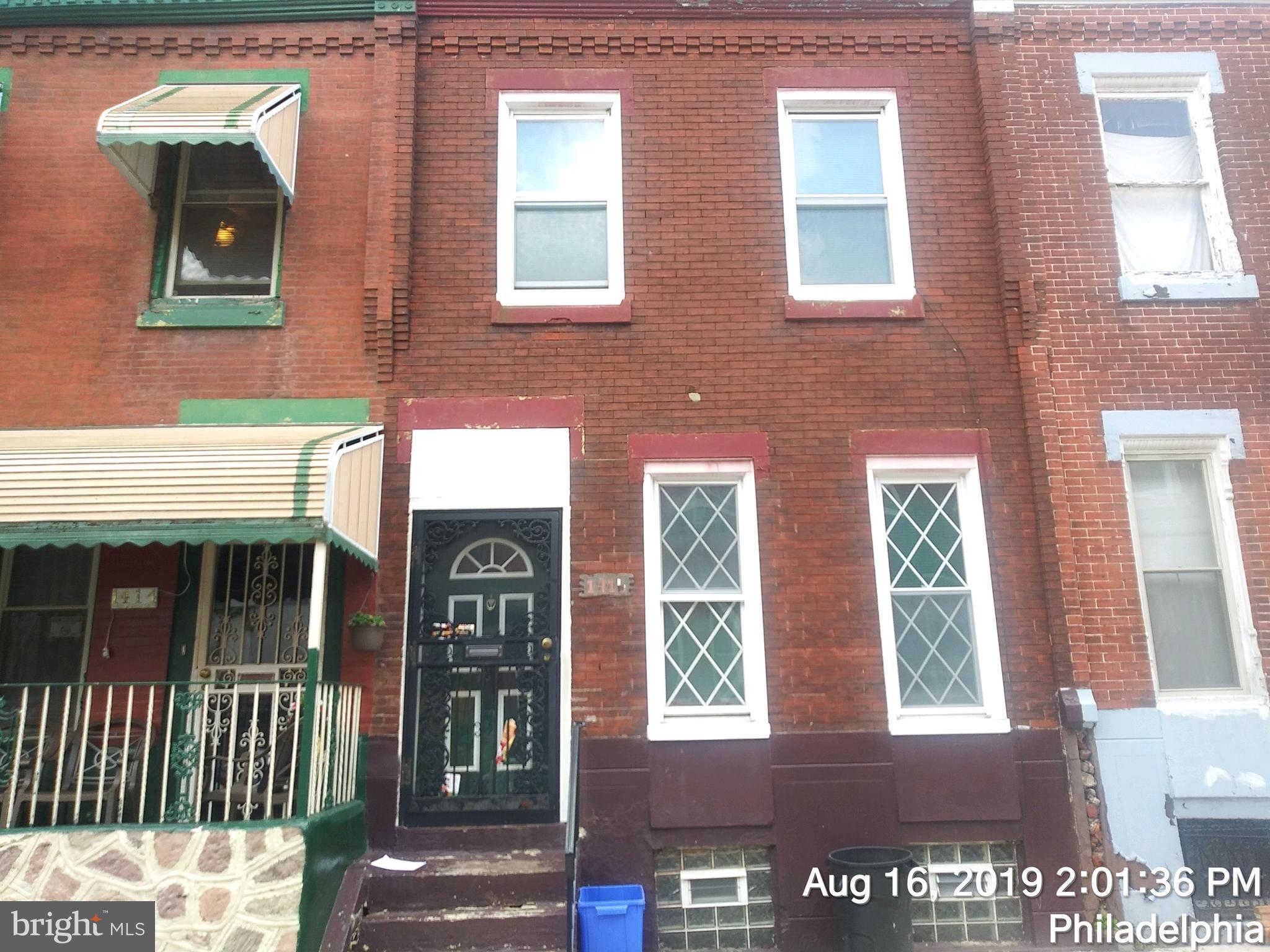 Another Property Sold - 1416 W Pacific Street, Philadelphia, PA 19140