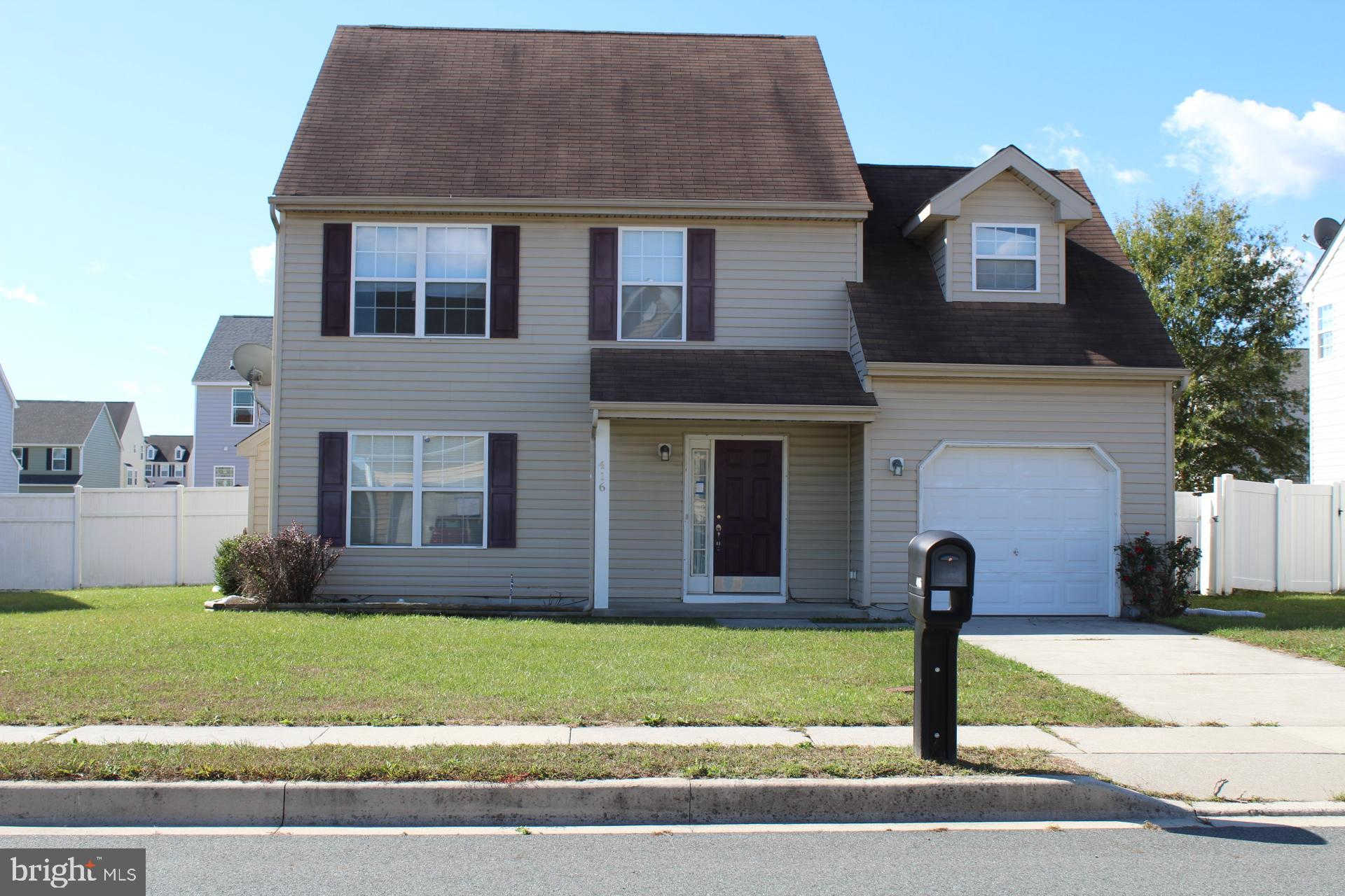 416 Northdown Drive, Dover, DE 19901 is now new to the market!