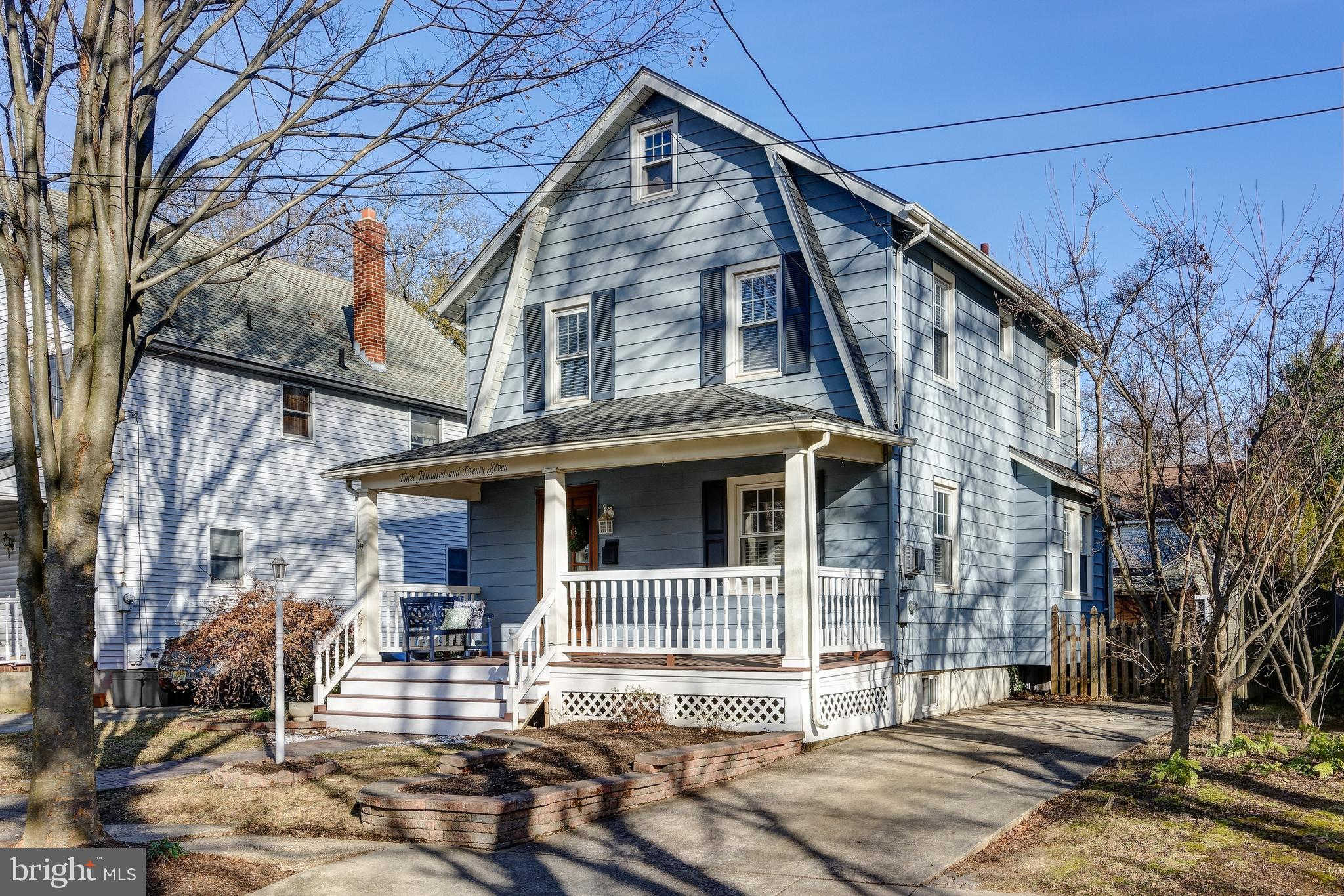 327 S Atlantic Avenue, Haddonfield, NJ 08033 is now new to the market!