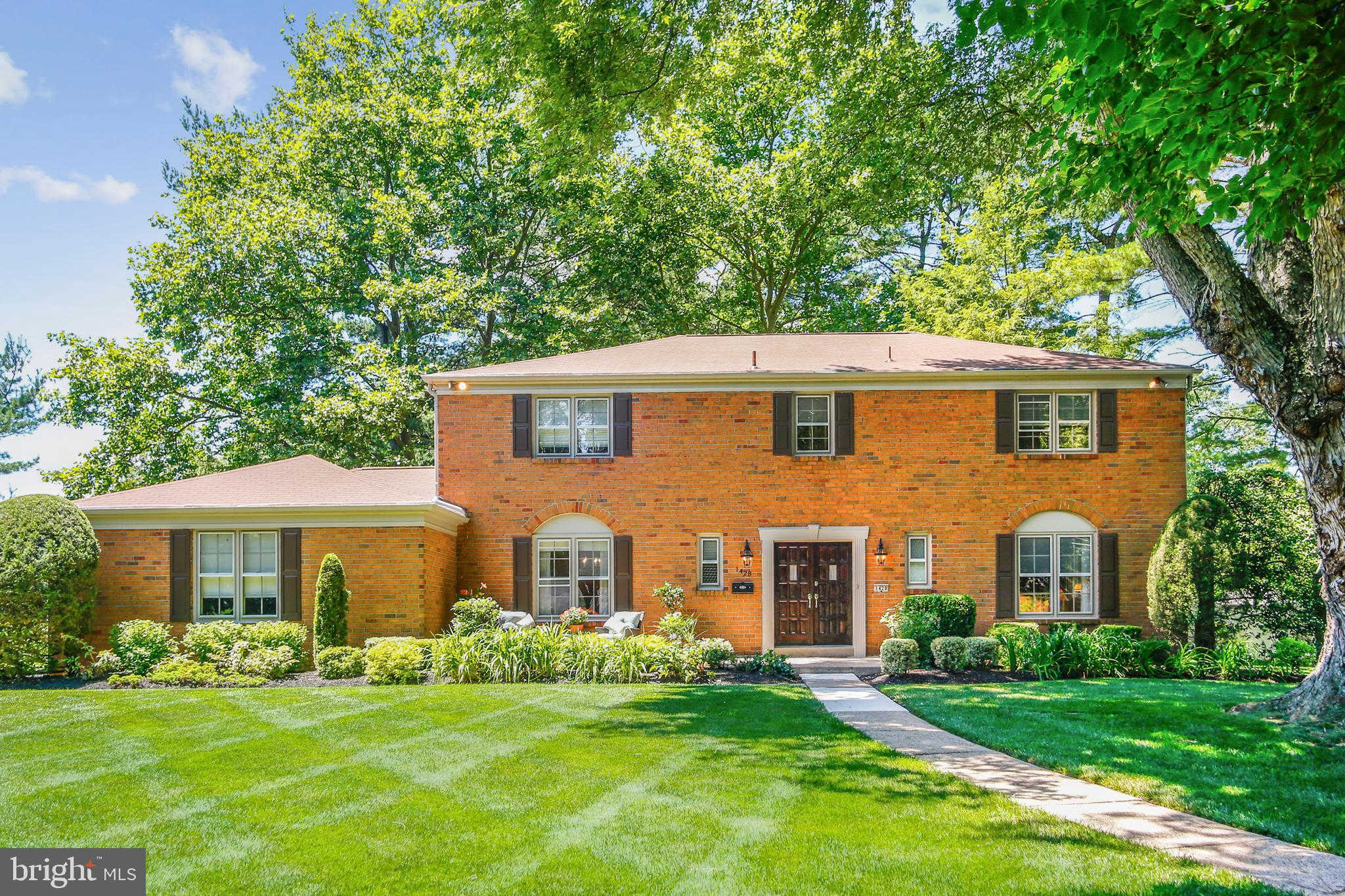 1428 Georgian Drive, Moorestown, NJ 08057 is now new to the market!