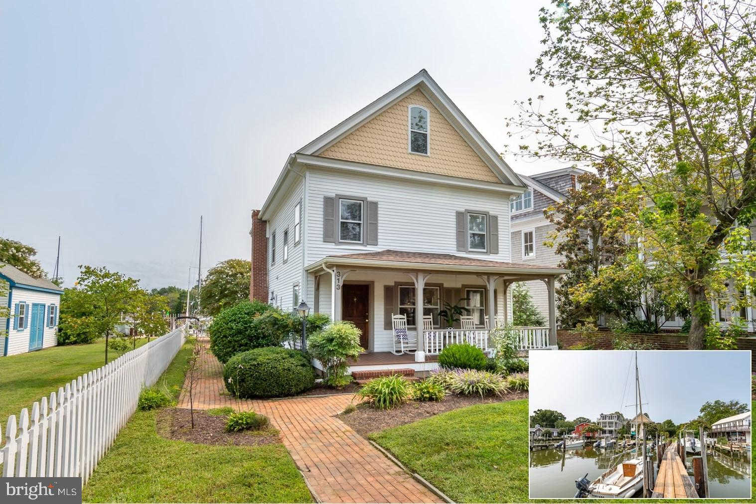 313-311 Morris Street S, Oxford, MD 21654 now has a new price of $898,000!