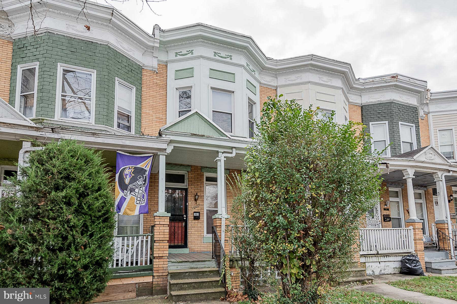 3007 Walbrook Avenue, Baltimore, MD 21216 now has a new price of $87,500!