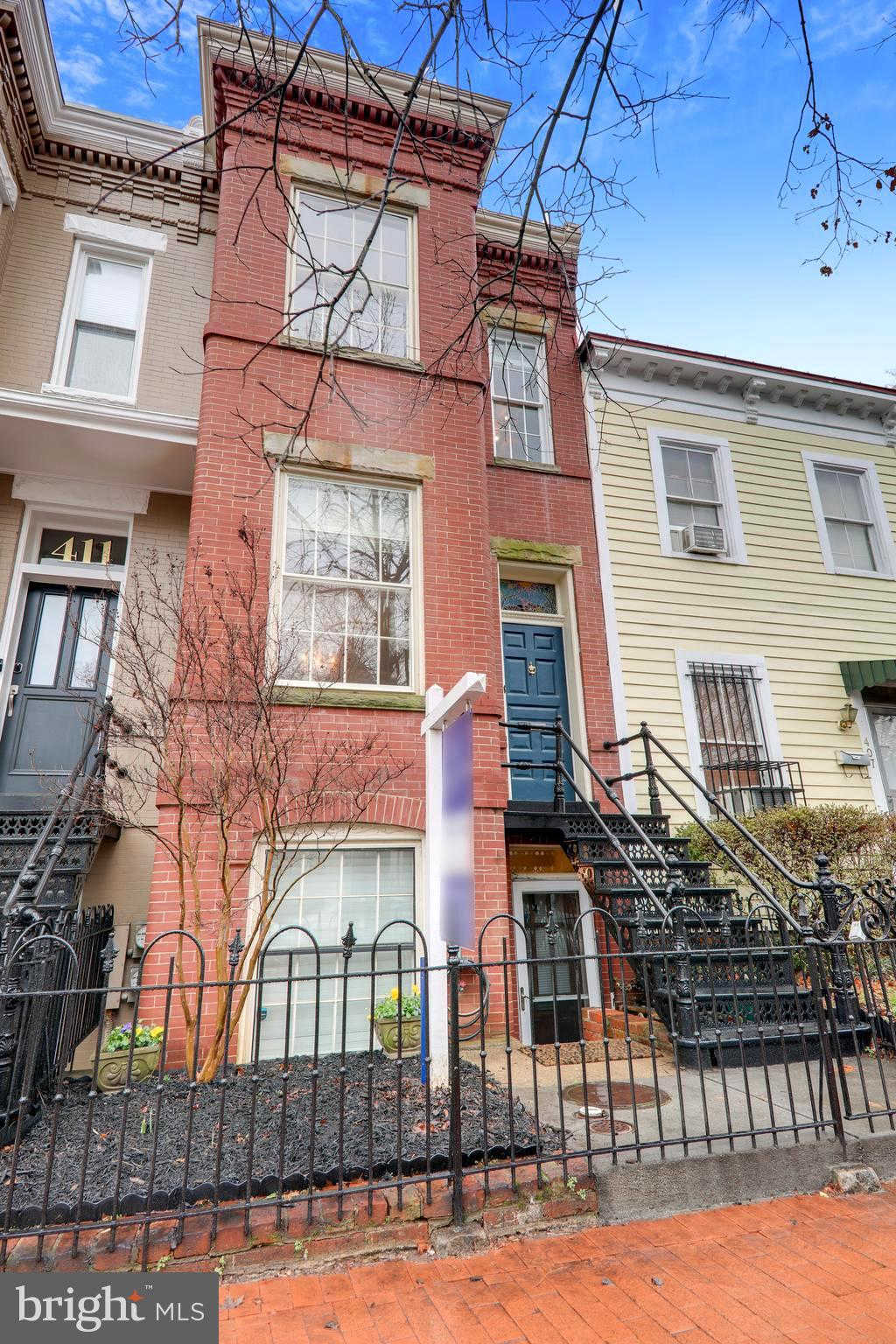 409 6TH Street Se, Washington, DC 20003 is now new to the market!