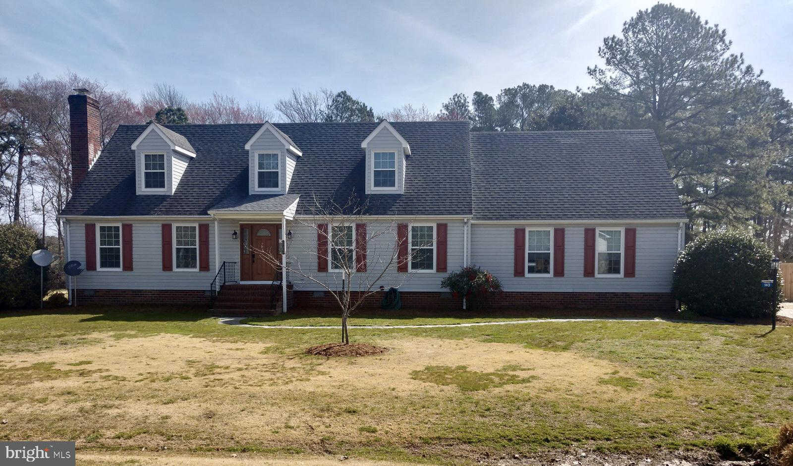 143 Sutton Avenue, Reedville, VA 22539 is now new to the market!