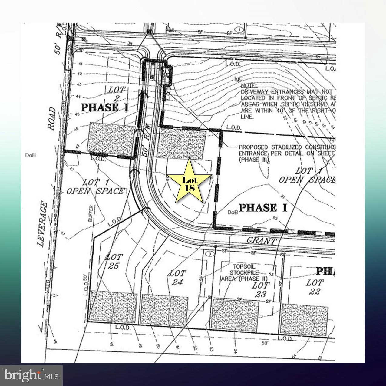 Lot 18 Grant Court, Chestertown, MD 21620 now has a new price of $79,500!