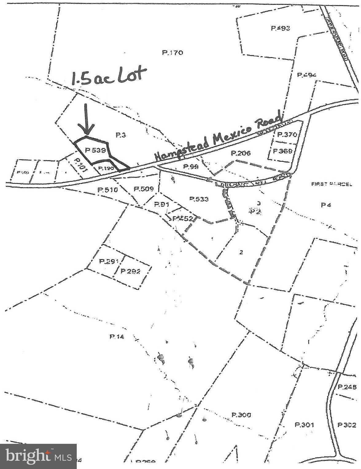 1.5Ac Hampstead Mexico, Hampstead, MD 21074 now has a new price of $115,000!