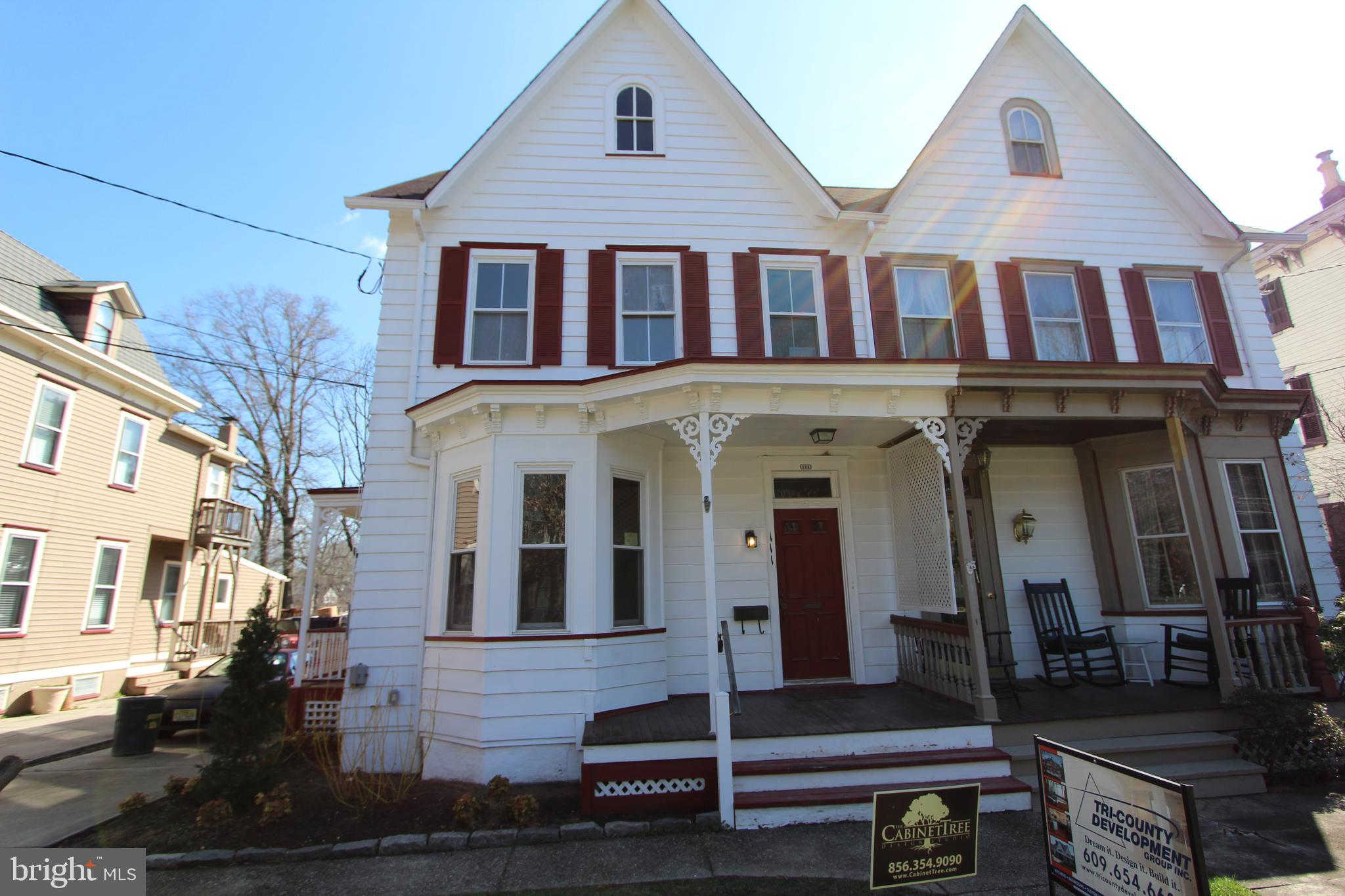 111 Chestnut Street, Haddonfield, NJ 08033 is now new to the market!