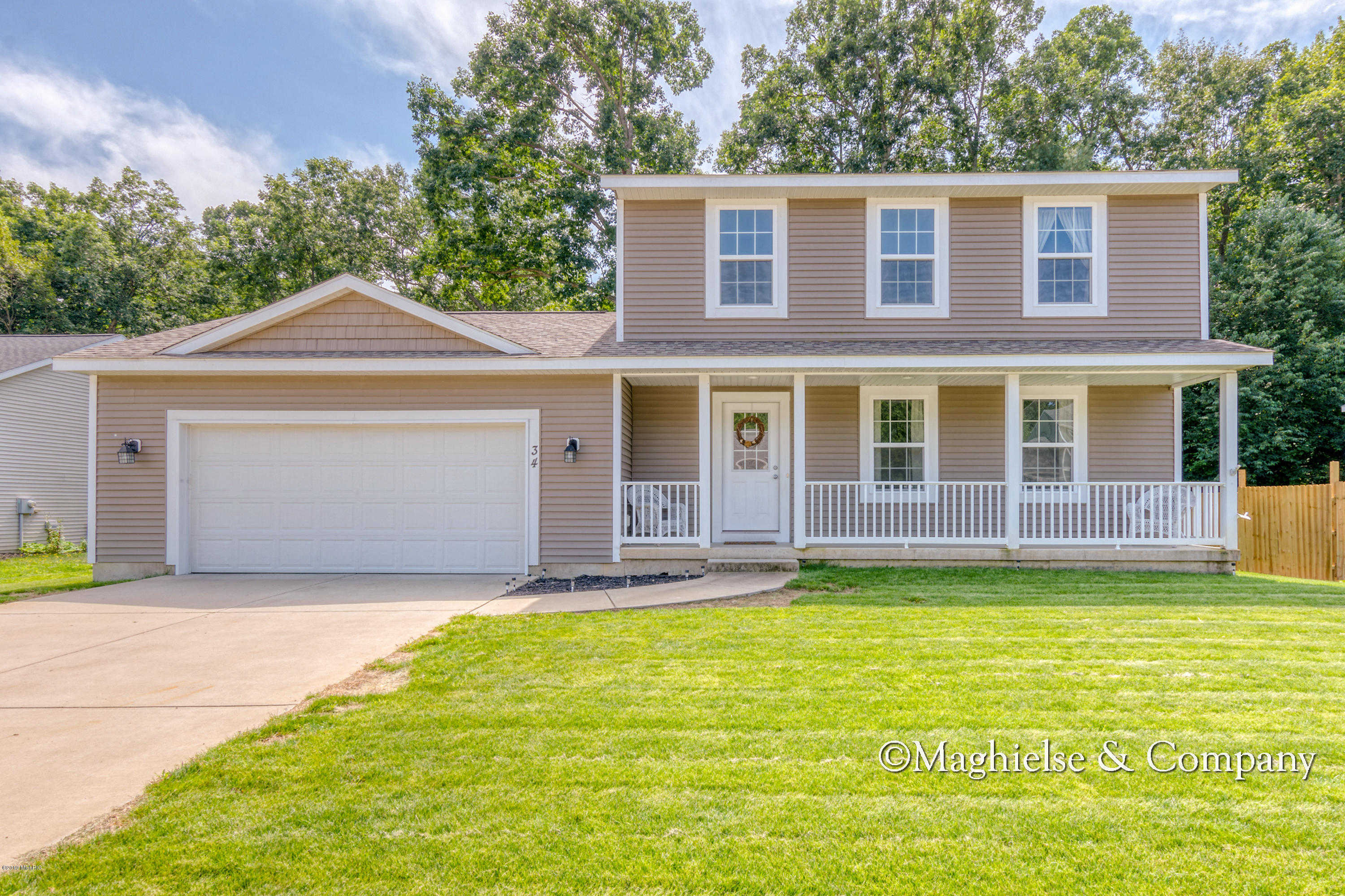 34 Cannonball Lane, Wayland, MI 49348 now has a new price of $209,900!