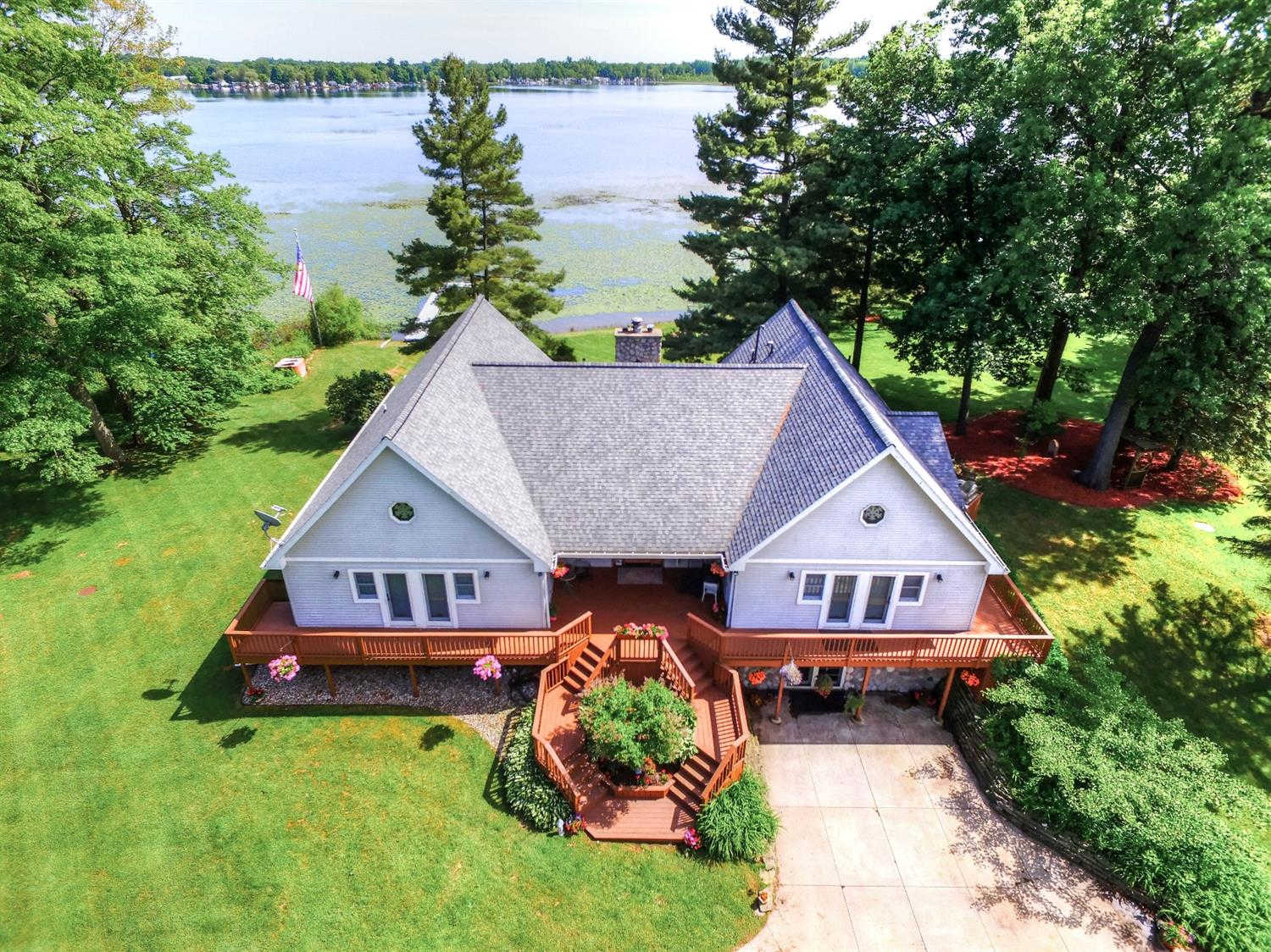 399 Goose Lake Road, Grass Lake, MI 49240 now has a new price of $425,000!
