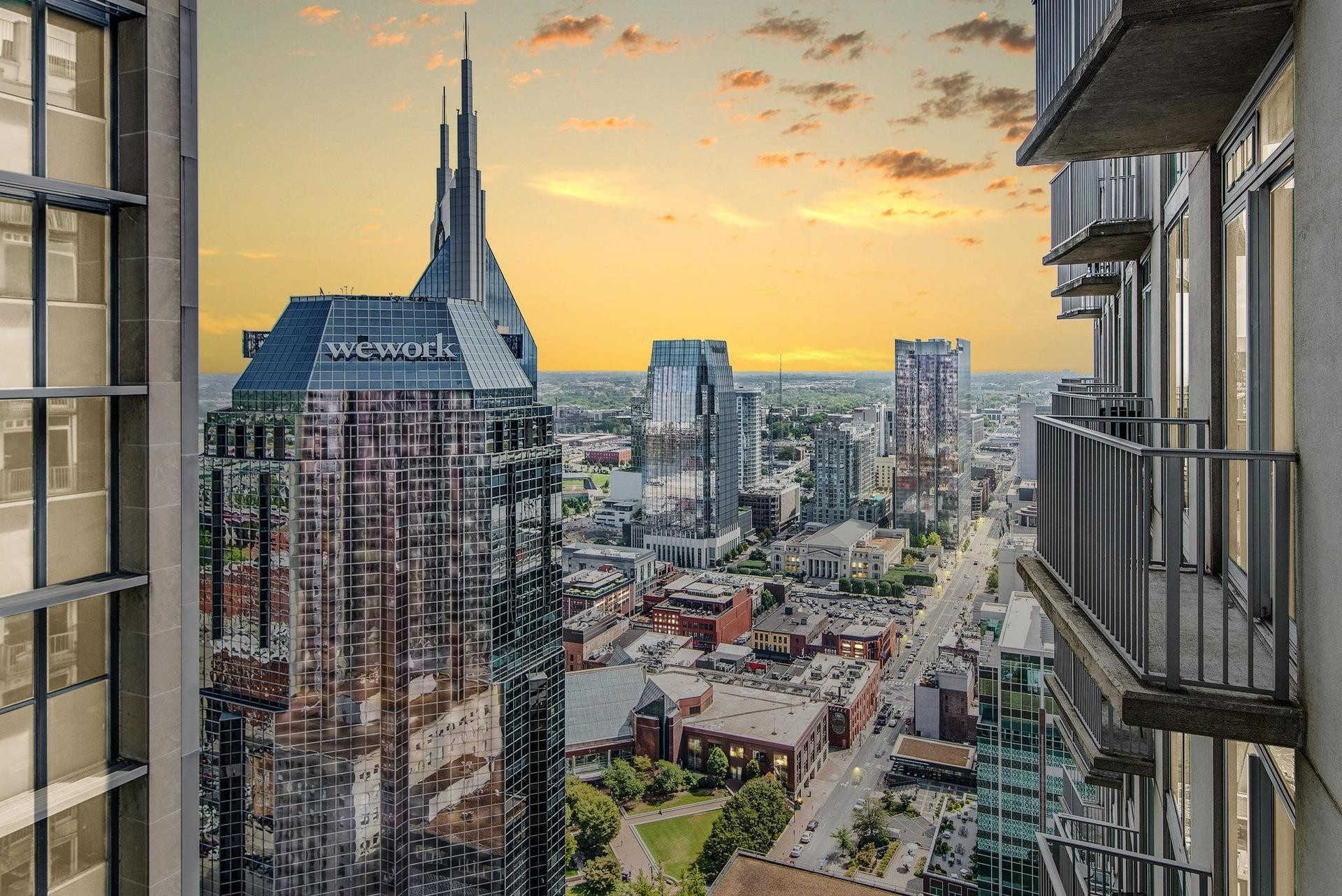 415 Church St #2807, Nashville, TN 37219 is now new to the market!