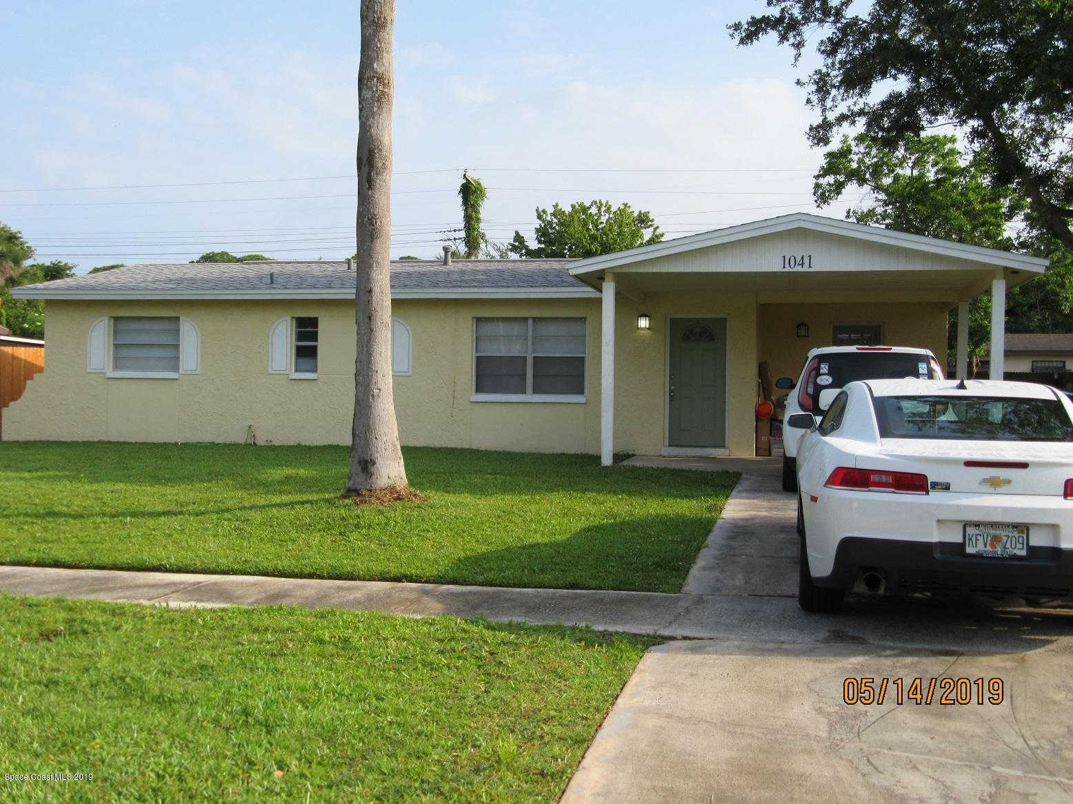 1041 Lakemoor Boulevard, Rockledge, FL 32955 is now new to the market!