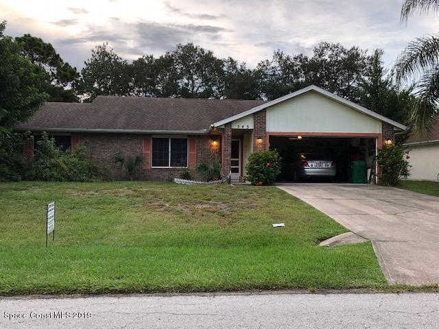 543 Benedictine Terrace, Sebastian, FL 32958 now has a new price of $194,900!