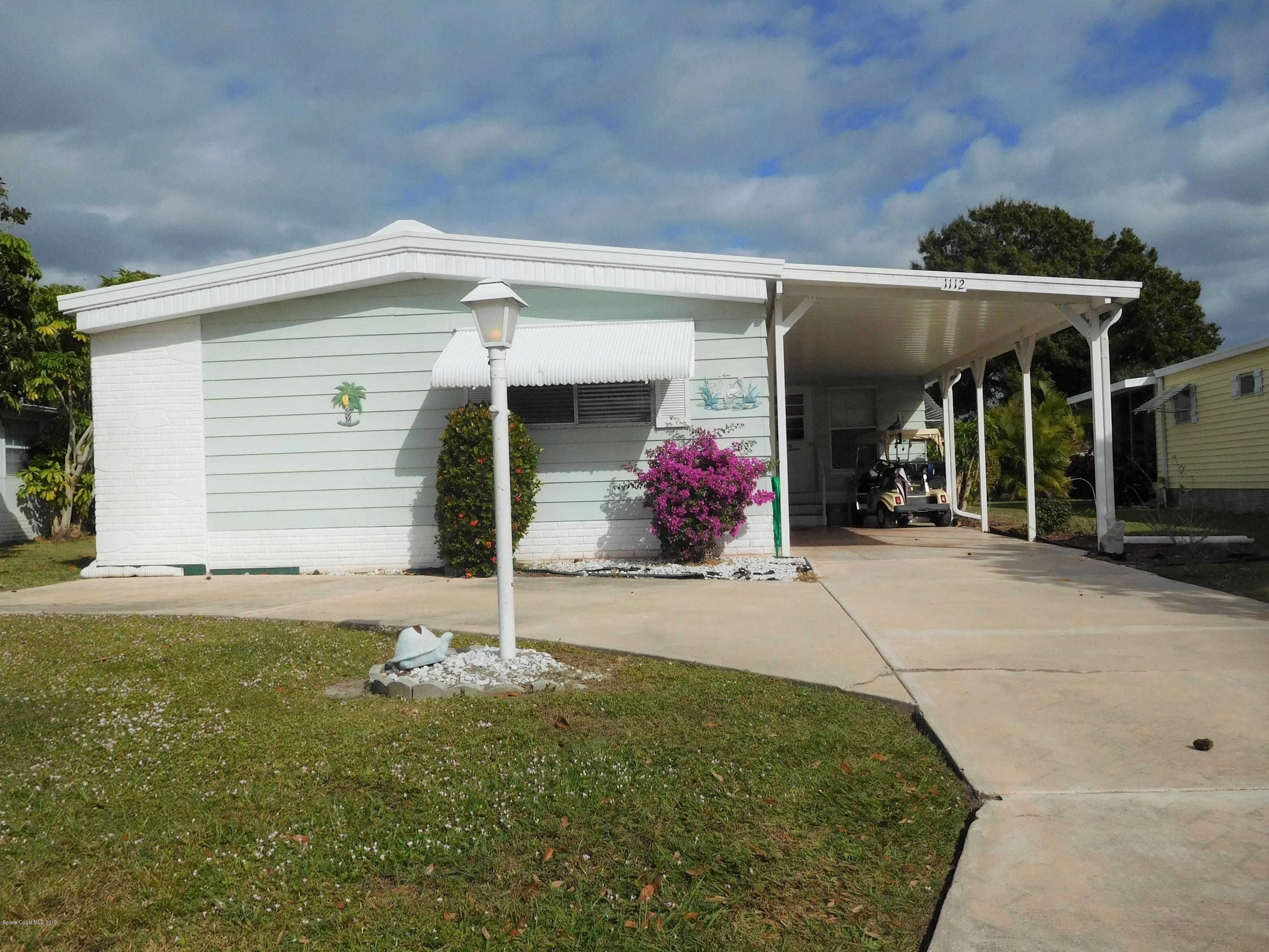 1112 Indigo Drive, Barefoot Bay, FL 32976 is now new to the market!