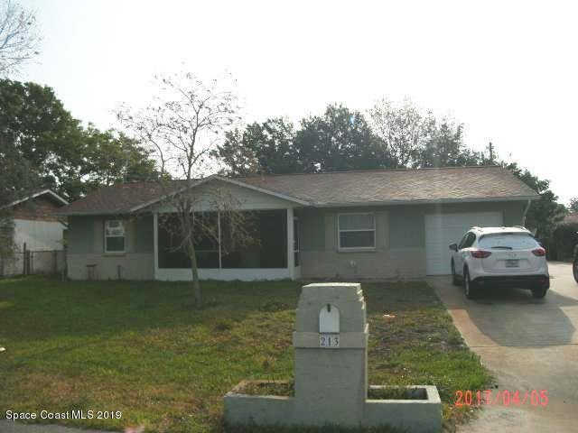 213 Fecco Street, Cocoa, FL 32927 is now new to the market!