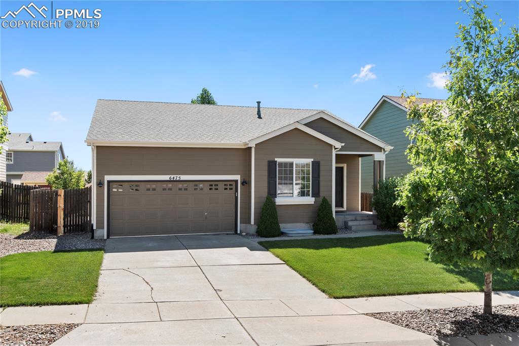 6475 Galeta Drive, Colorado Springs, CO 80923 is now new to the market!