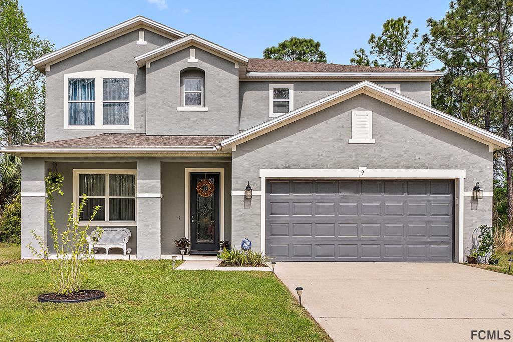 9 Radford Lane, Palm Coast, FL 32164 is now new to the market!