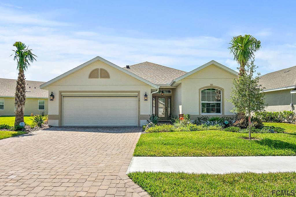 14 Park Place Circle, Palm Coast, FL 32164 now has a new price of $299,900!