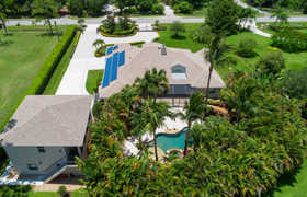 Honey Stop The Car! FOR SALE - Rare pool home on paved road in Jupiter Farm, Solar Panels, separate apartment, 16814 Mellen Ln.  Jupiter.
