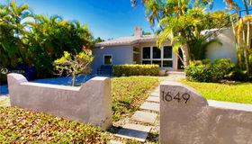 1649 Bay Dr #main, Miami Beach, FL 33141