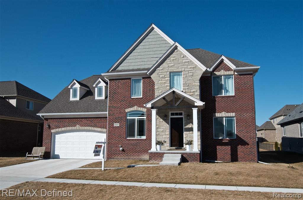 26597 Bronx CRT, Chesterfield, MI 48051 is now new to the market!