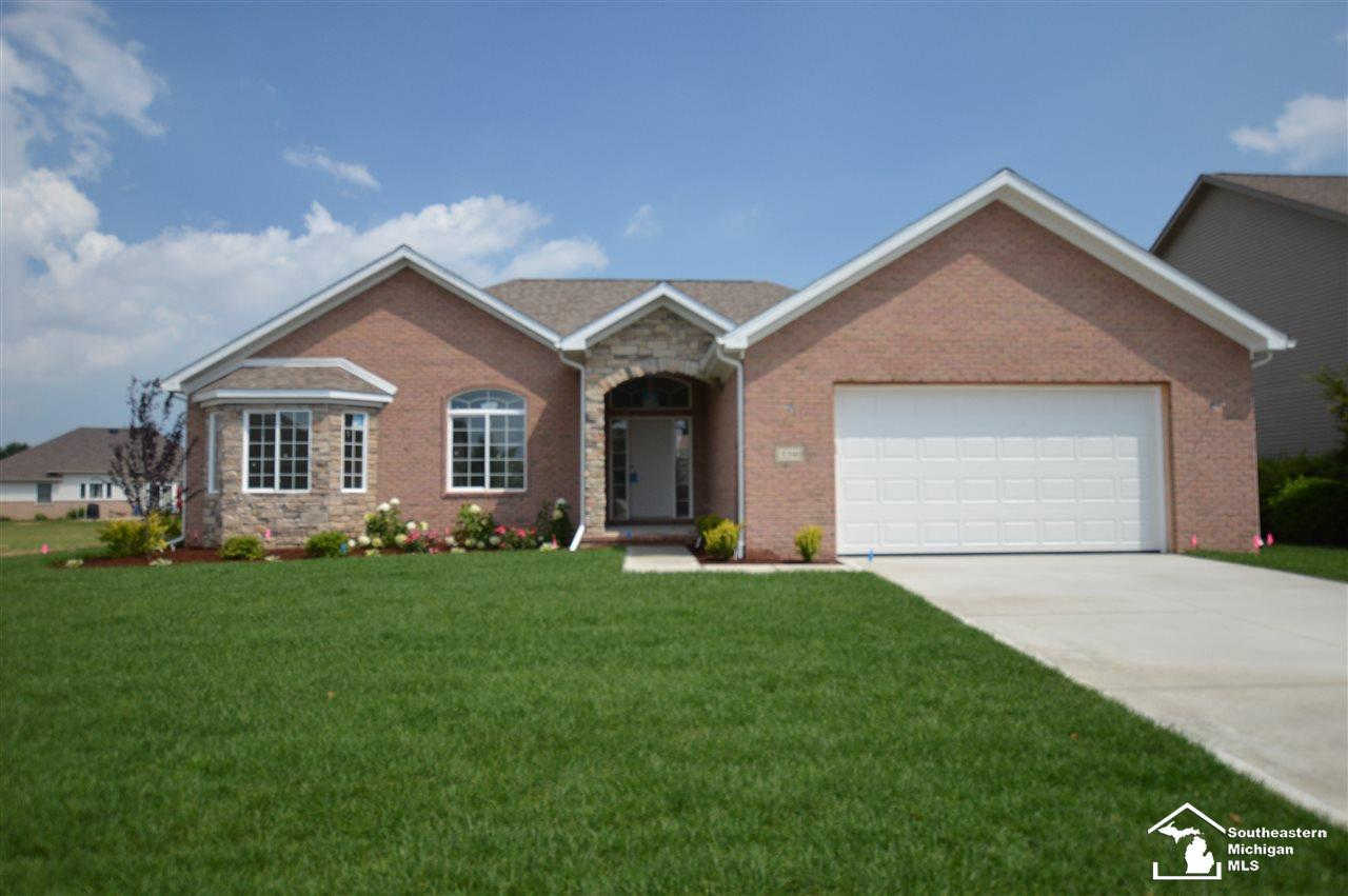 15390 Orchard Meadows Dr, Monroe, MI 48161 now has a new price of $319,900!