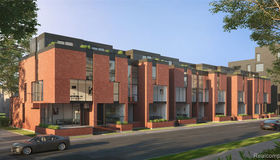6 Edmund plc #unit#6-Bldg#th-6, Detroit, MI 48201