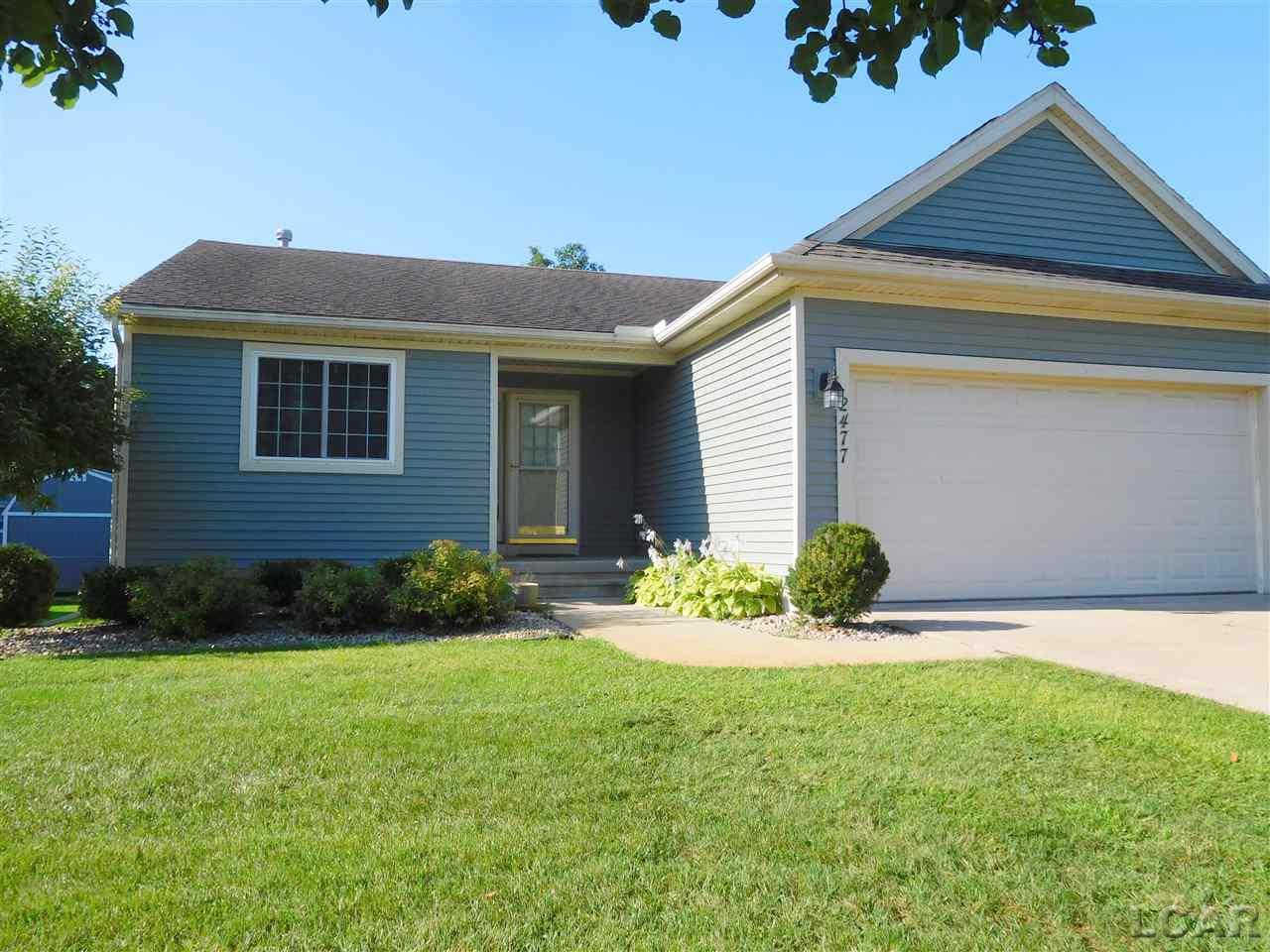 2477 Orient Dr., Adrian, MI 49221 is now new to the market!