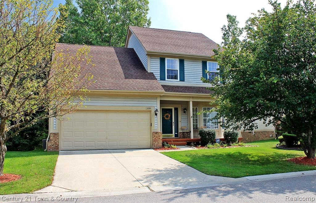 41583 Sleepy Hollow Dr, Novi, MI 48377 is now new to the market!