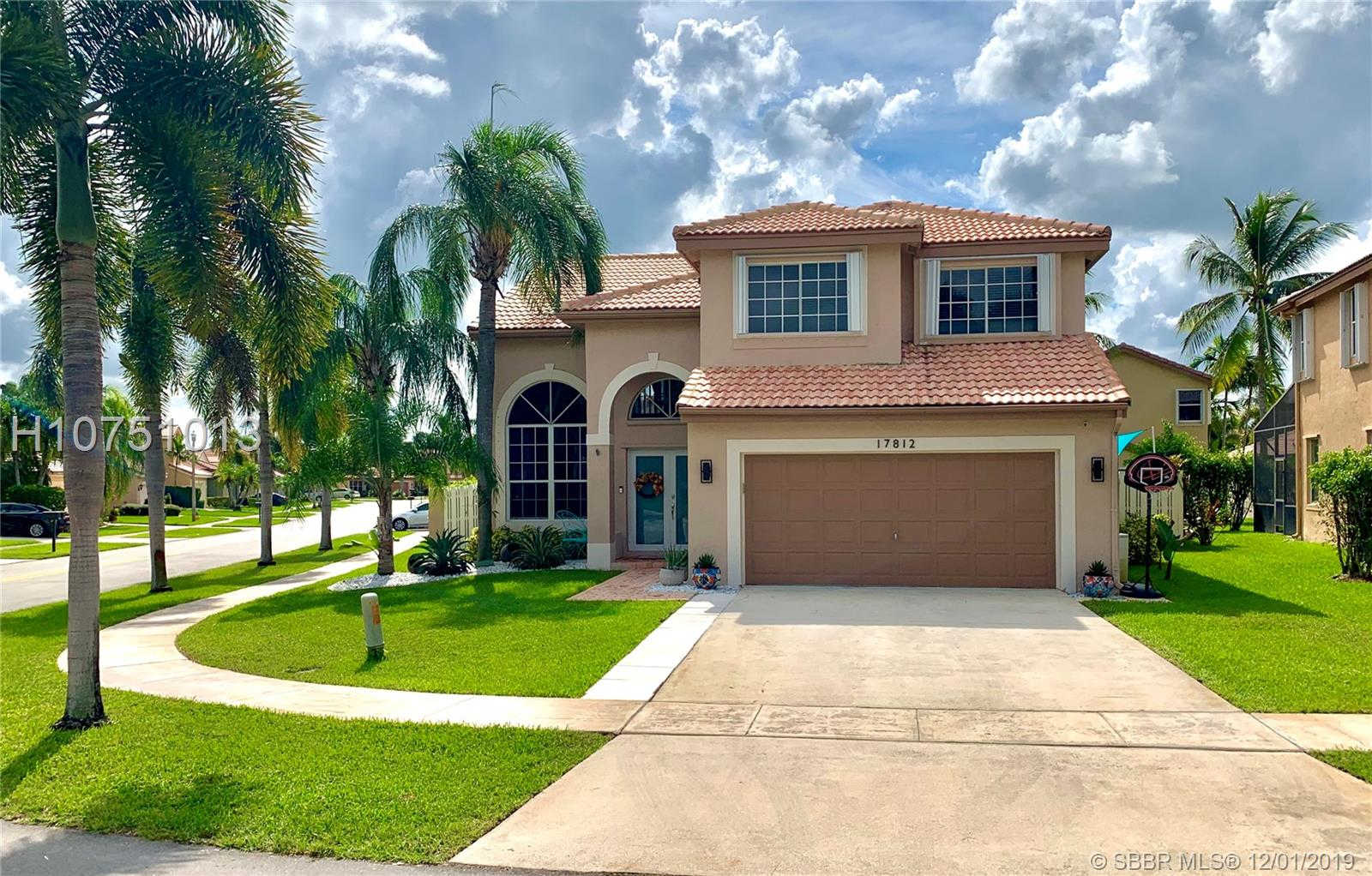 17812 SW 12th Ct, Pembroke Pines, FL 33029 now has a new price of $450,000!