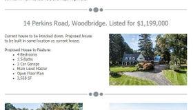 14 Perkins Road, Woodbridge, CT 06525