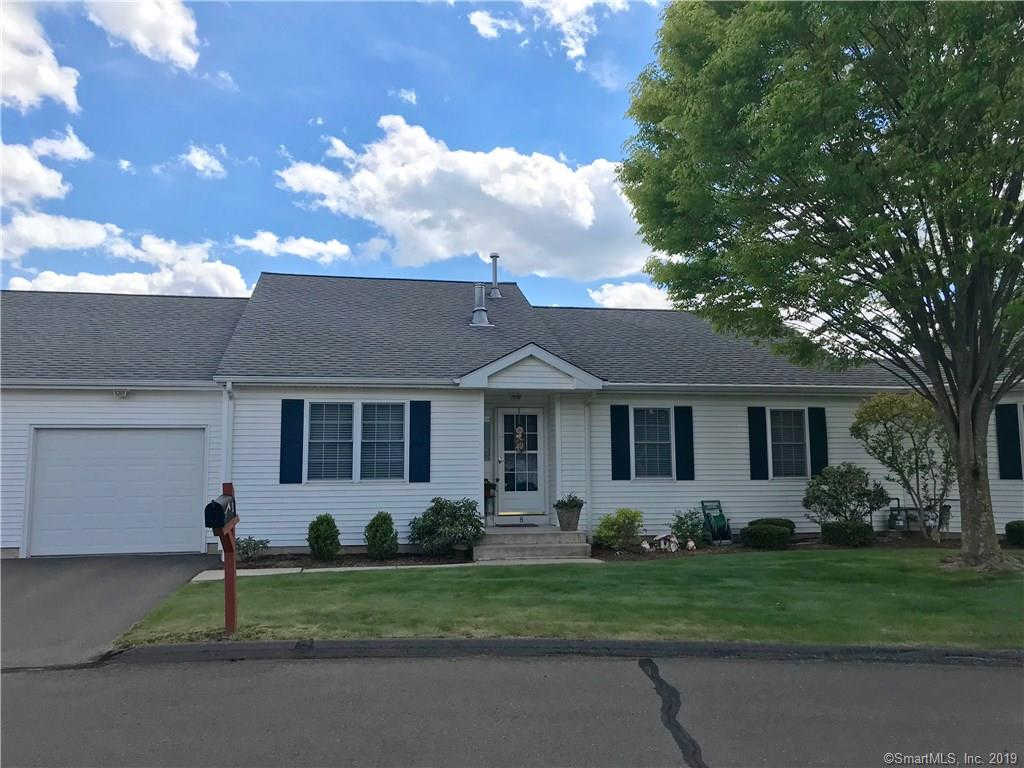 8 Quail Hollow Close #8, Vernon, CT 06066 is now new to the market!