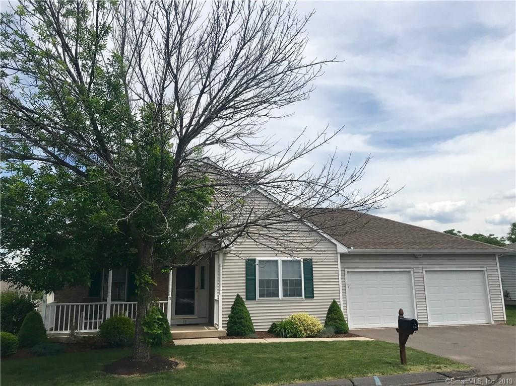 12 Quail Hollow Close #12, Vernon, CT 06066 is now new to the market!