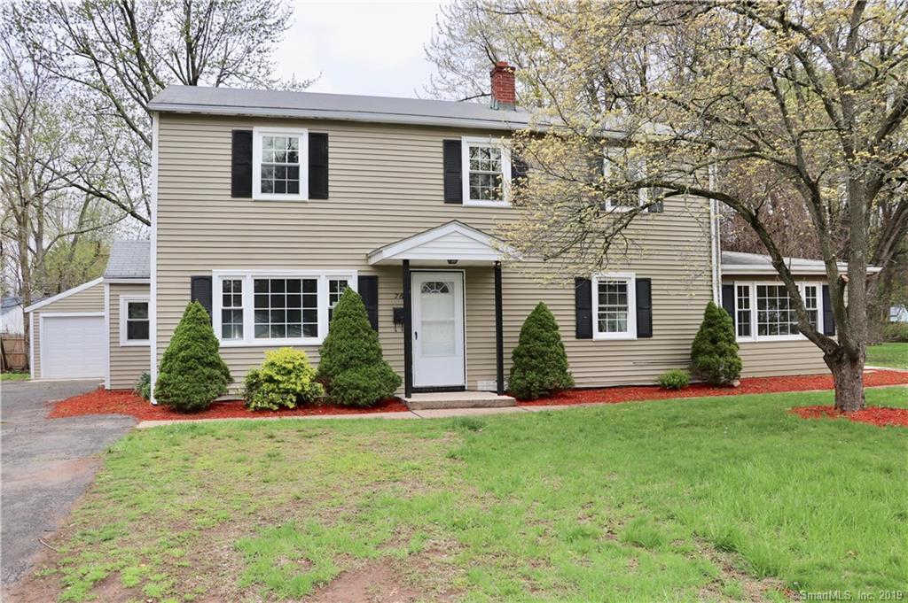 76 Middle Drive, East Hartford, CT 06118 is now new to the market!