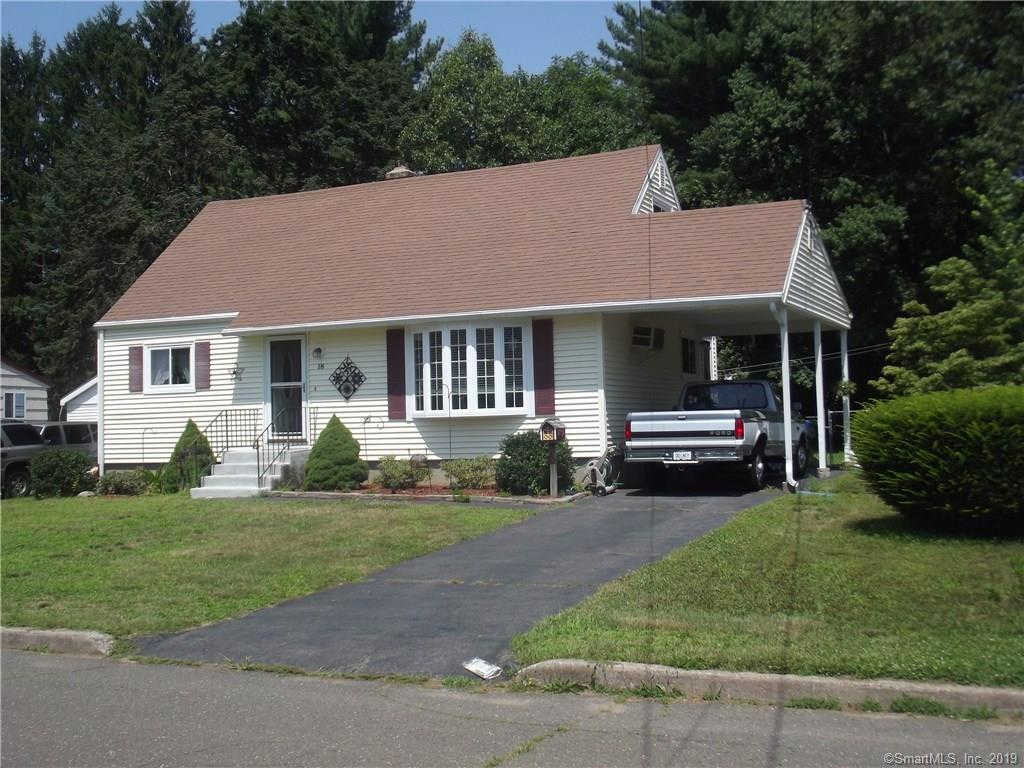 18 Jeffrey Drive, East Hartford, CT 06118 is now new to the market!