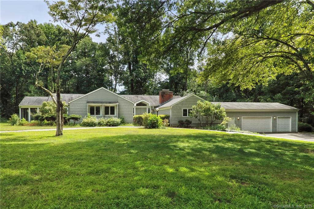 18 Overhill Road, Woodbridge, CT 06525 is now new to the market!