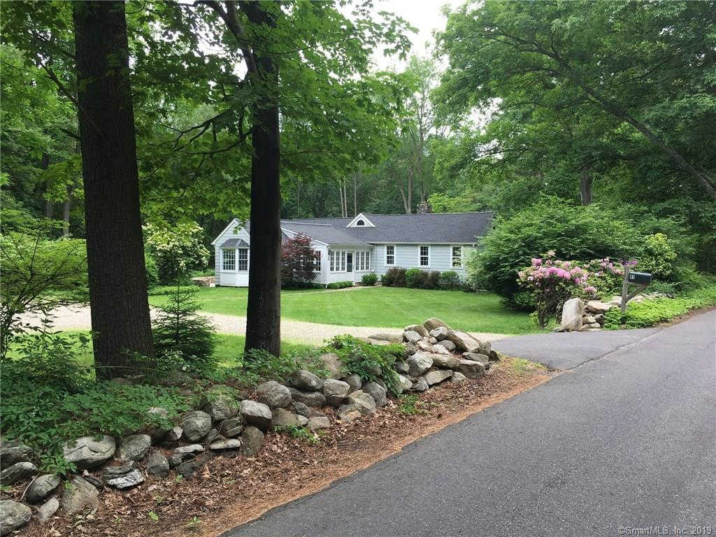 41 Fanton Hill Road, Weston, CT 06883 has an Open House on  Sunday, October 6, 2019 12:00 PM to 2:00 PM