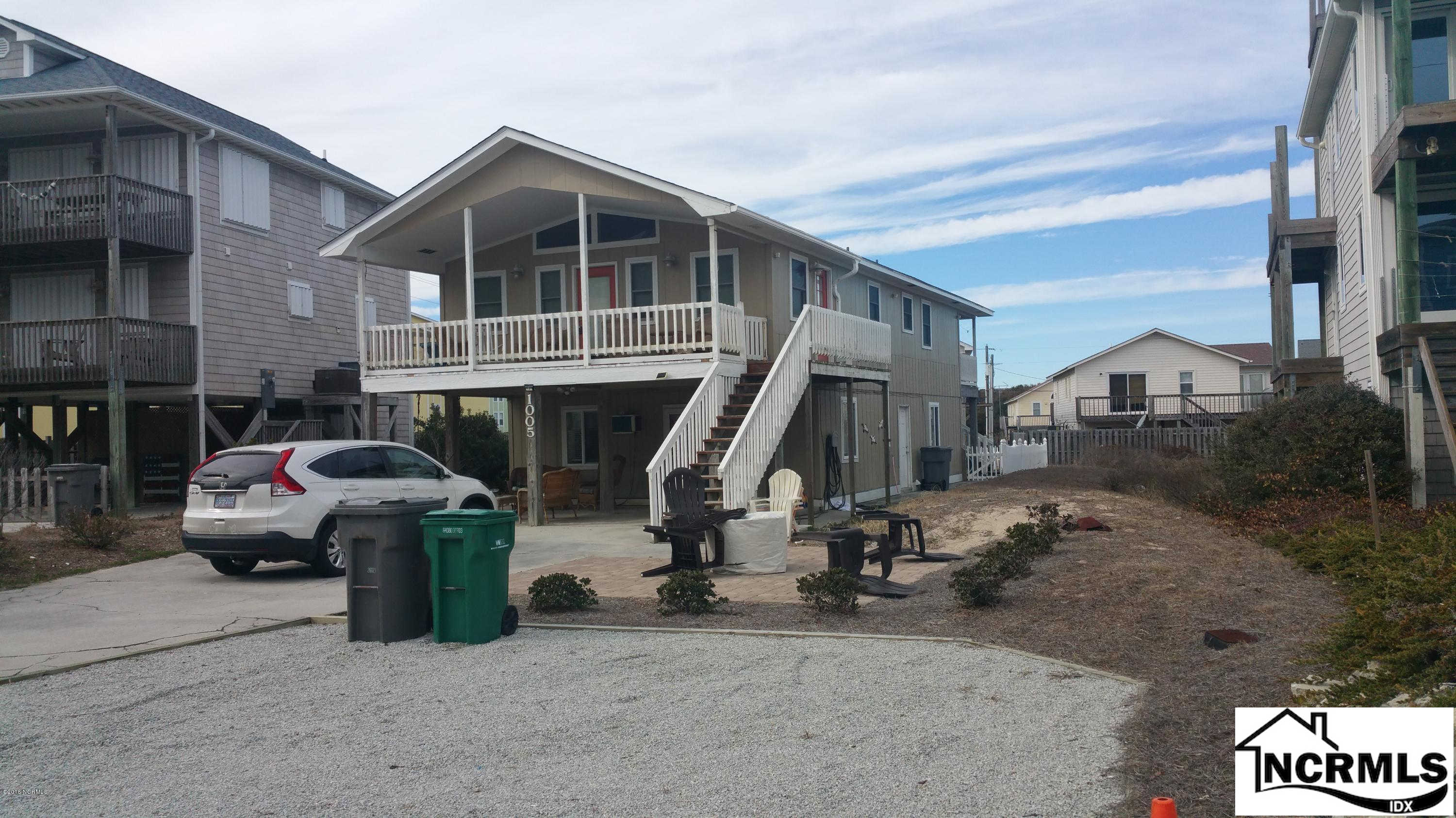 1005 N Shore Drive #Upper, Surf City, NC 28445 is now new to the market!